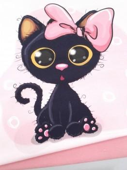 Panel sudadera gatito